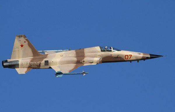 Northrop F-5N Tiger II.
