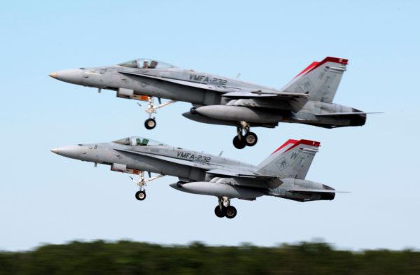 McDonnell Douglas F/A-18C Hornet.