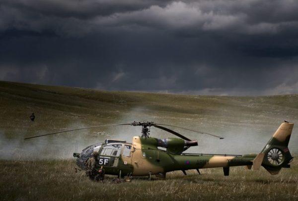 Westland Gazelle AH Mk-1.