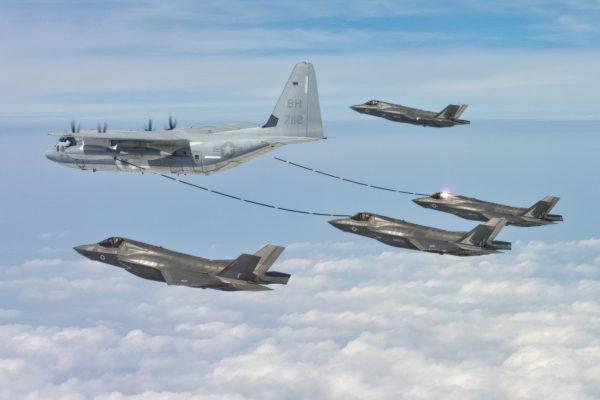 Lockheed KC-130T Hercules.