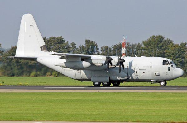 Lockheed-Martin KC-130J Hercules.