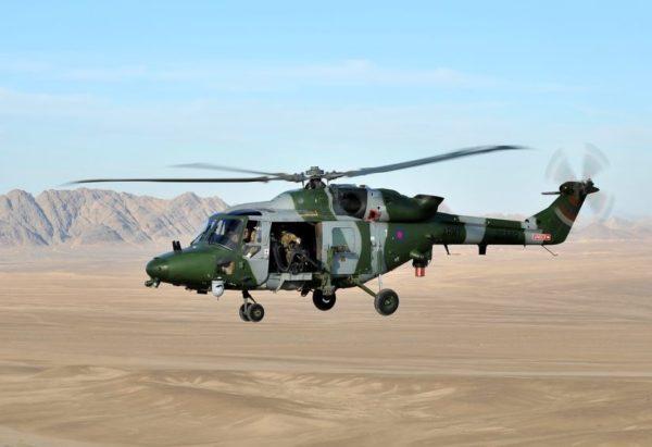 Westland Lynx AH Mk-9.