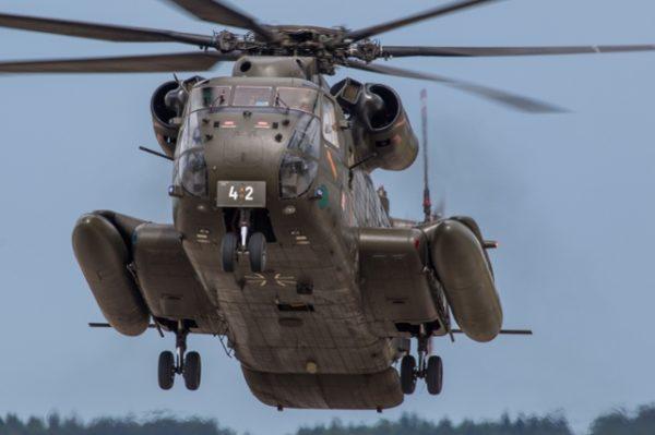 Sikorsky CH-53GA Stallion.