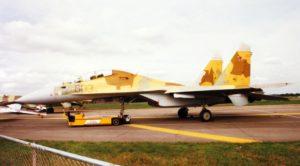 Le démonstrateur du Su-30.