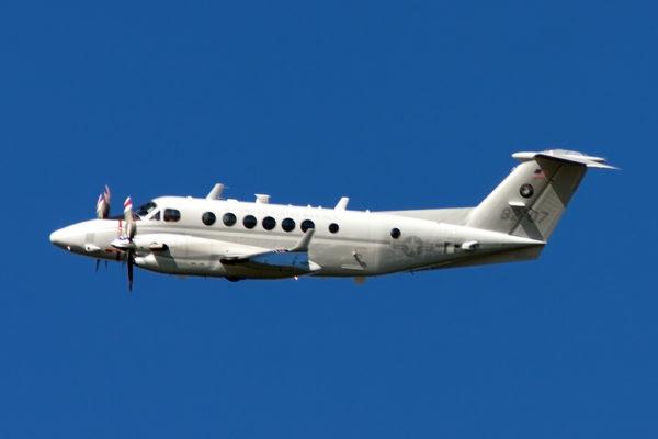 Beechcraft UC-12W Huron.