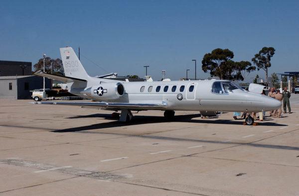 Cessna UC-35D Citation.