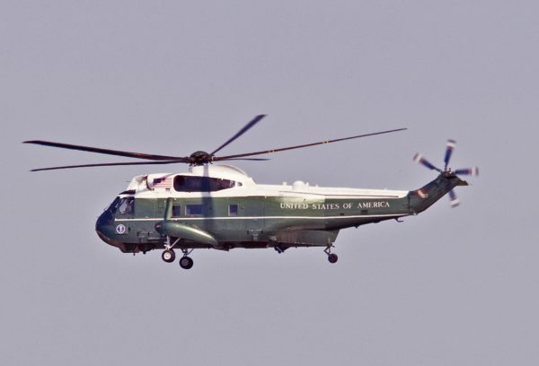 Sikorsky VH-3D Sea King.