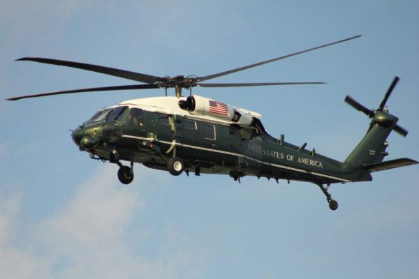 Sikorsky VH-60 White Hawk.