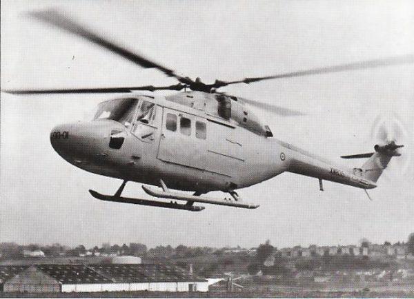 Le Westland WG.13, prototype du Lynx.