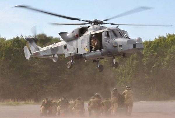 Agusta-Westland Wildcat AH Mk-1.