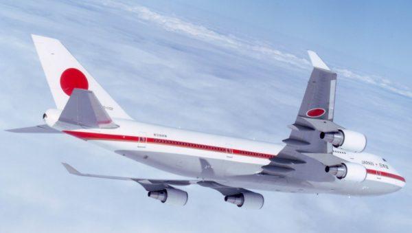 Boeing 747-400 Jumbo Jet.