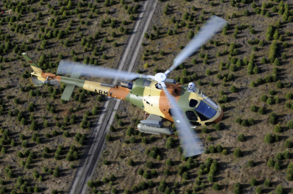 L'Airbus Helicopters H125M.