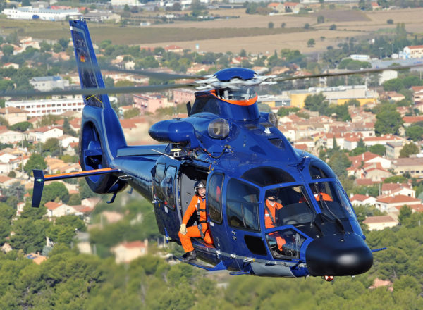L'Airbus Helicopters H155.