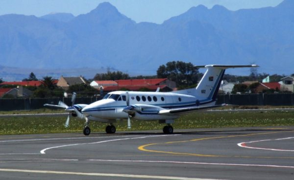 Beechcraft Super King Air 200.