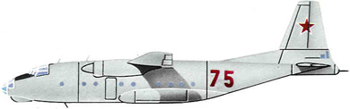 Profil couleur du Antonov An-8 'Camp'