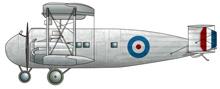 Profil couleur du Vickers Vernon