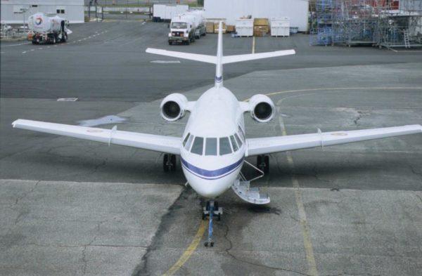 Dassault Falcon 20E.