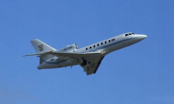 Dassault Falcon 50E.