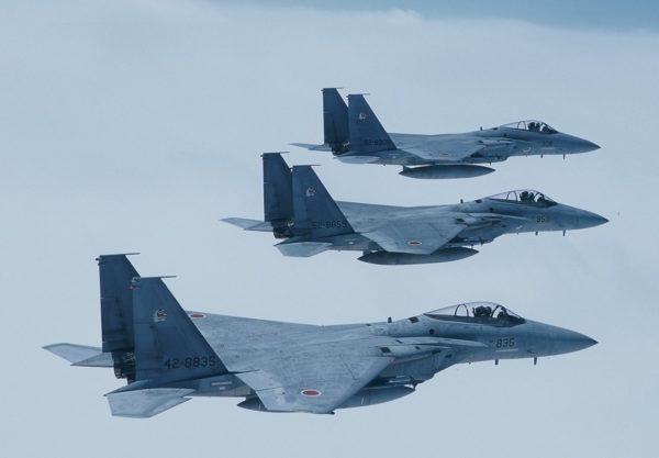 McDonnell Douglas F-15CJ.