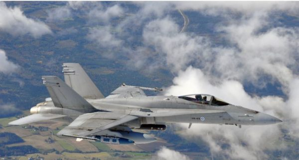 Finlande F-18 Hornet
