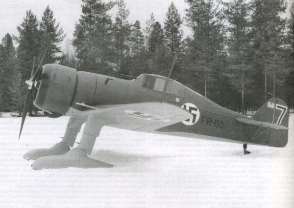 Finlande Fokker DXXI 1
