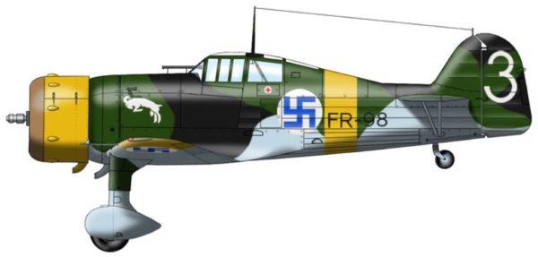 Finlande Fokker DXXI 2