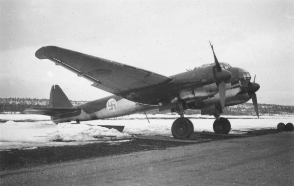 Finlande Ju88