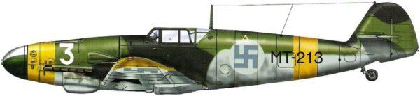 Finlande Me BF-109 2