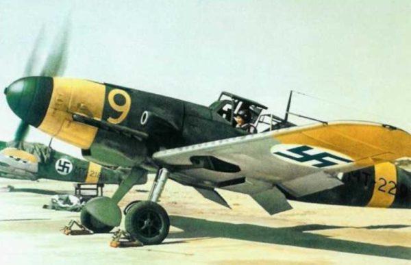 Finlande Messerschmitt_Bf_109G 1943