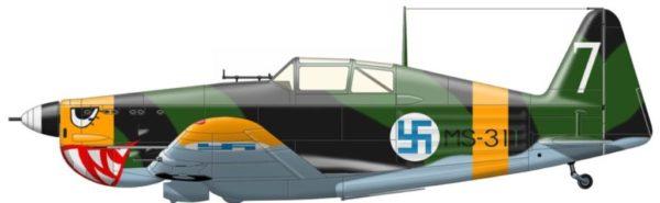 Finlande Morane-Saulnier 1