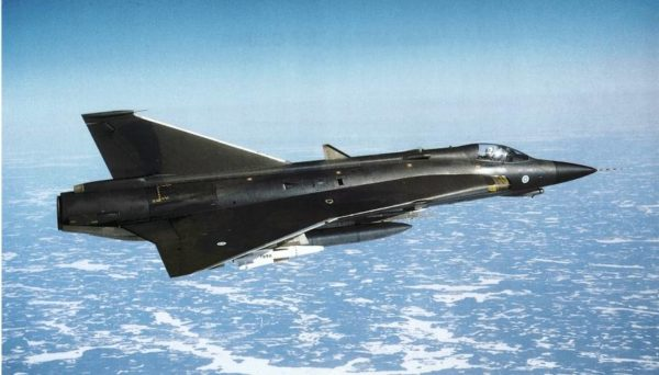 Finlande Saab J 35FS Draken