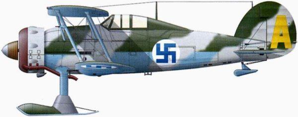 Finlande gloster-gladiator-j8
