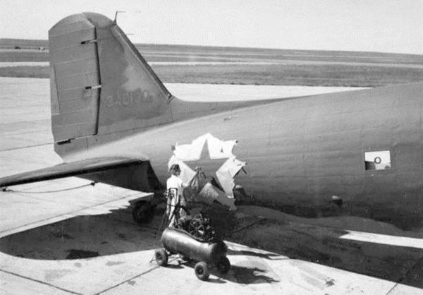 NWSR C-47 étoile soviétique