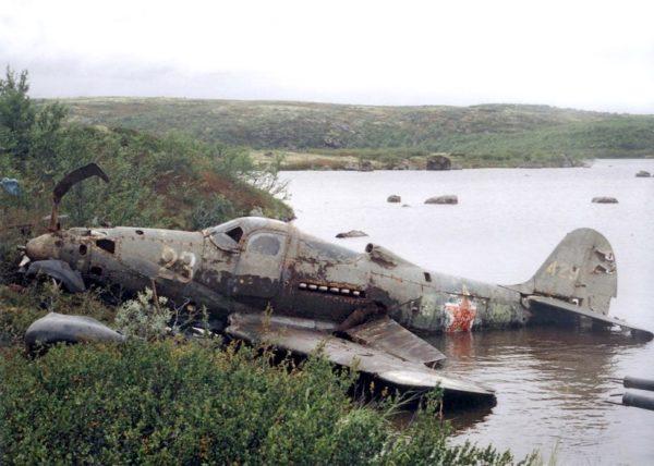 NWSR P-39 épave