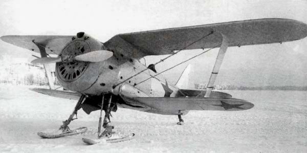 NWSR Polikarpov I-153 Tchaïka