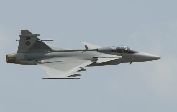 Saab JAS-39C Gripen.