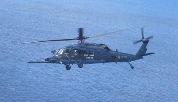 Sikorsky UH-60J Blackhawk.