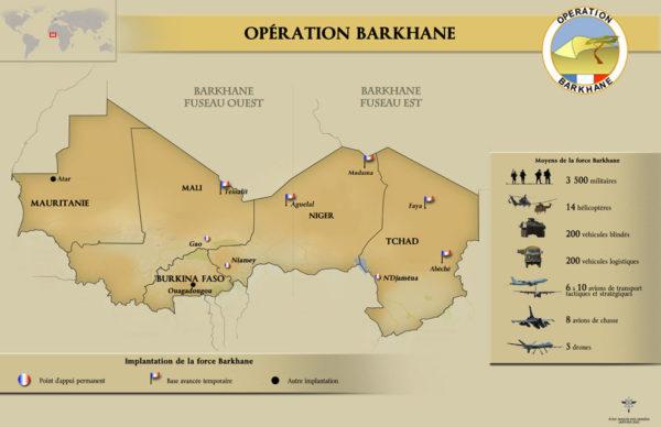 carte barkhane_MinDéf