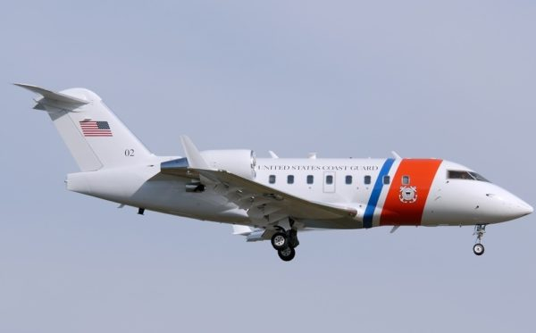 Bombardier C-143A Challenger.