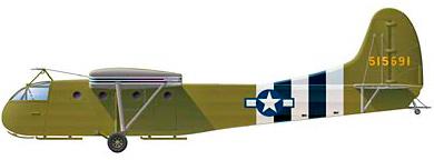 Profil couleur du Waco CG-4 Hadrian