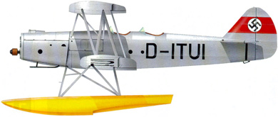 Profil couleur du Heinkel He 42