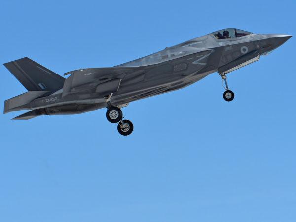 Lockheed-Martin F-35B Lightning II.