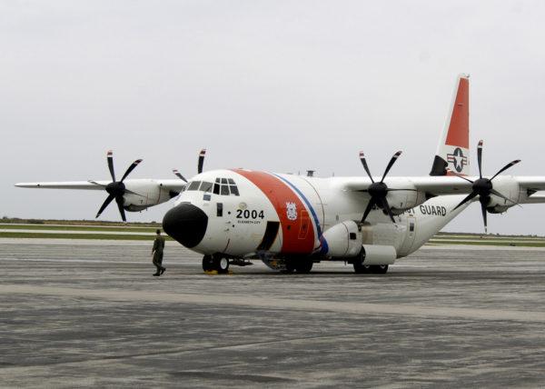 Lockheed-Martin HC-130J Hercules.