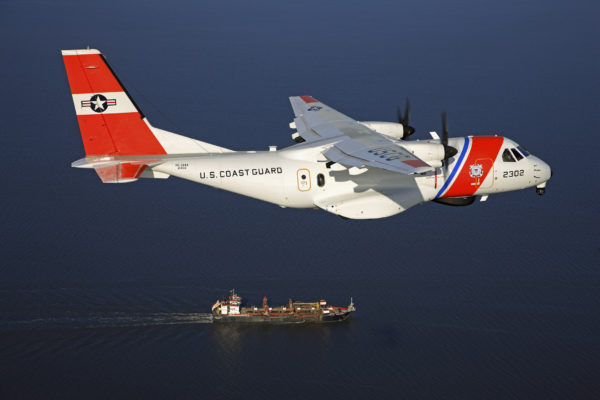 Airbus Defense & Space HC-144A Ocean Sentry.