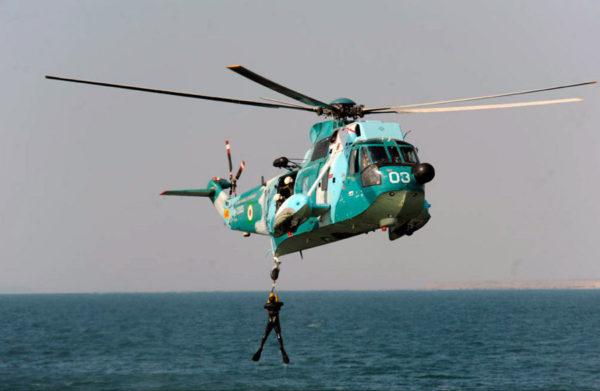 Chatoyante livrée que celle de la marine iranienne.