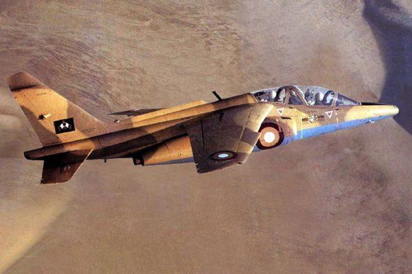 Alpha Jet du 11ème Escadron Appui aérien rapproché