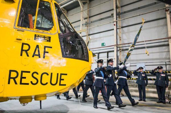 La RAF rend honneur à son vieux serviteur.