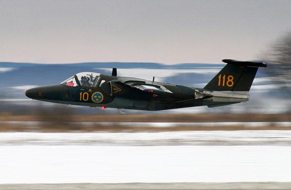 Saab Sk-60B.