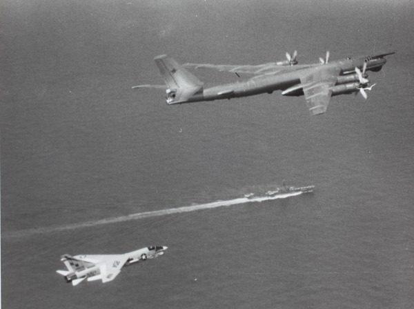 Bear contre Crusader, c'est pas gagné pour l'équipage soviétique.