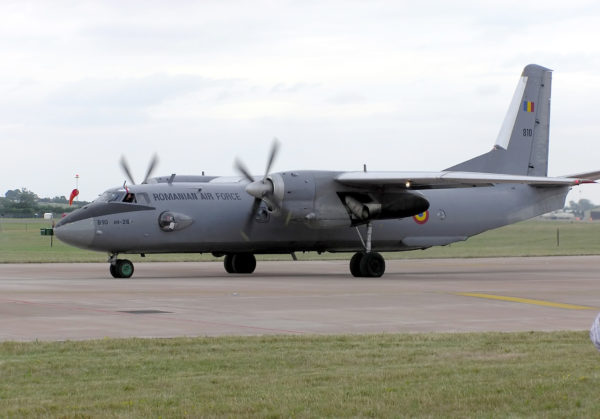 """Antonov An-26A """"Curl""""."""